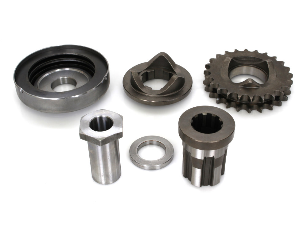 Compensating Sprocket Kit; Big Twin'91-93, 24 Tooth