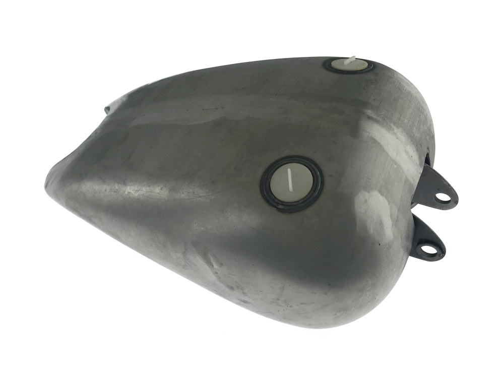 3.5 Gallon Smooth Fatbob Style Fuel Tank. Fits Sportster 1982-2003.