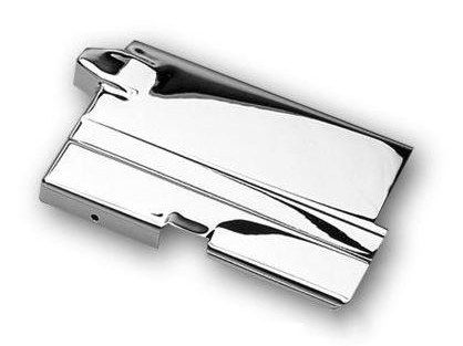 Battery Top Cover; Sportster'67-78, with Electric Start, Chrome Finish