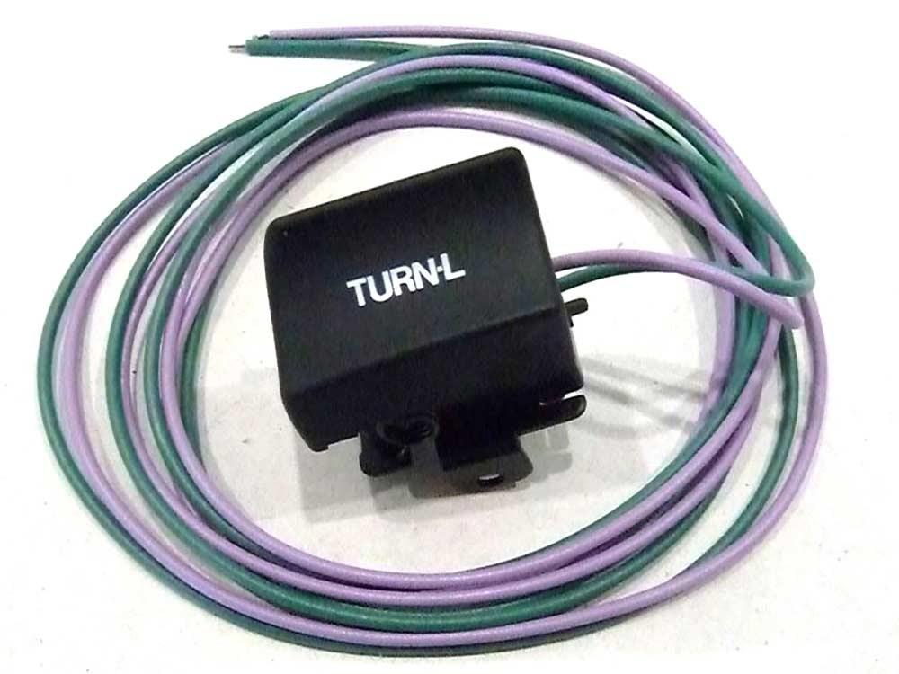 Switch; Turn Signal, Left, '82-95, Black Finish