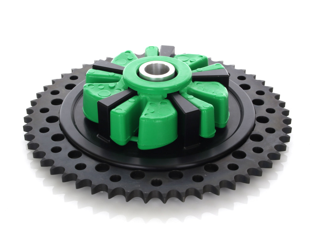 Cush Drive Chain Sprocket Kit. Touring Models 2009up. Black Cush Carrier with 53T Black Sprocket