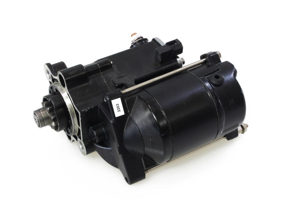 1.4kw Starter Motor with Black Finish. Fits Sportster 1981-2011.