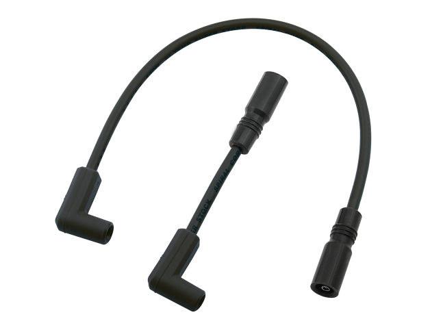 Spark Plug Wire Set - Black. Fits Softail 2000-2017. on