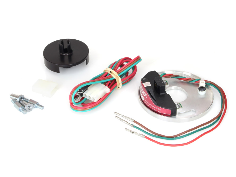 Ignition Kit; Points Conversion, While Using Mechanical Advance Unit