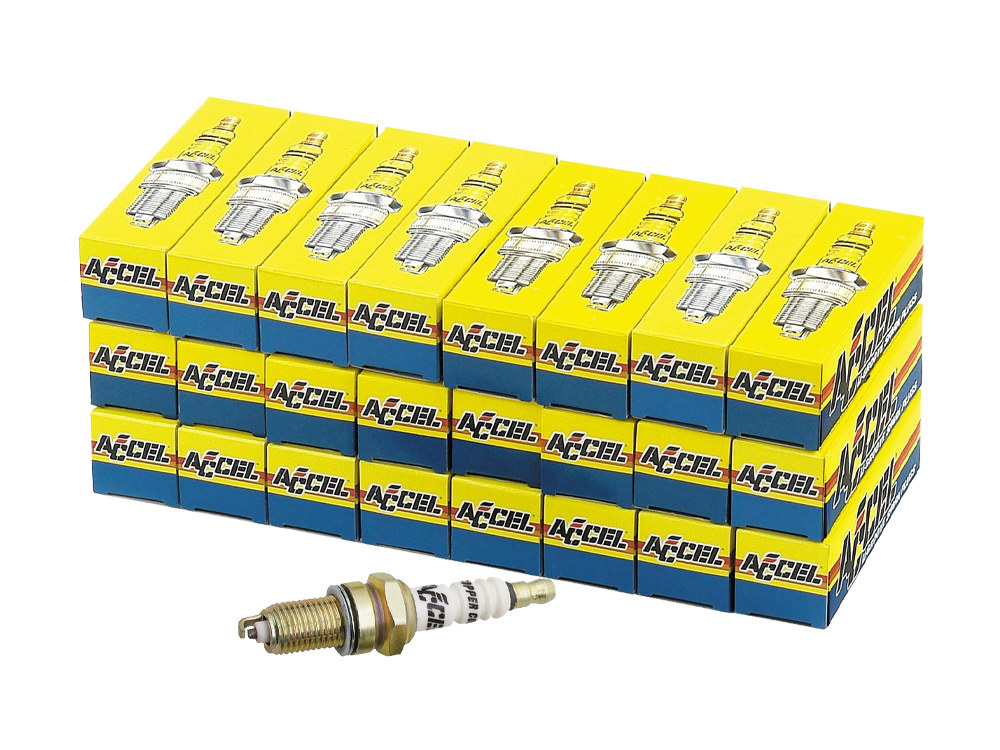 Spark Plugs; Big Twin'75-99, U-Groove, Electric Ignitions (Pack 24)