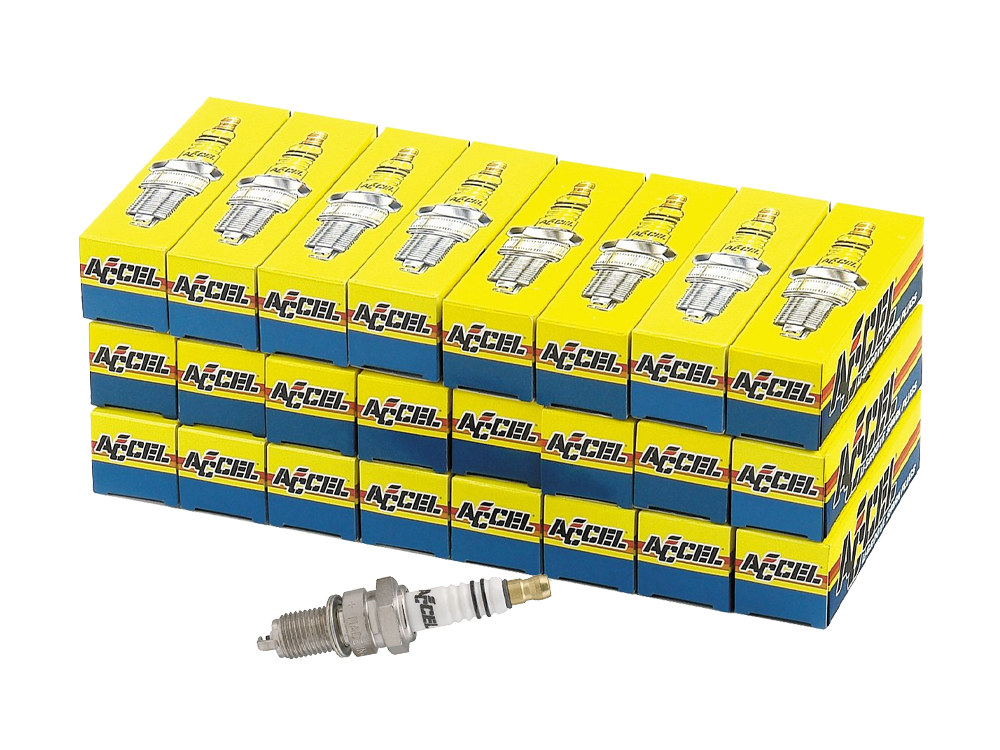 Spark Plugs; Twin Cam'00up & Sportster'86up, U-Groove (Pack 24)