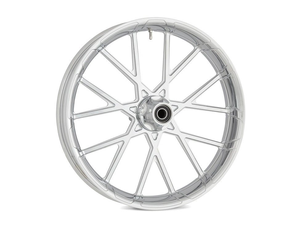 18in. x 5-1/2in. ProCross Rear Wheel with Hub – Chrome. Fits Fat Bob 2018up.