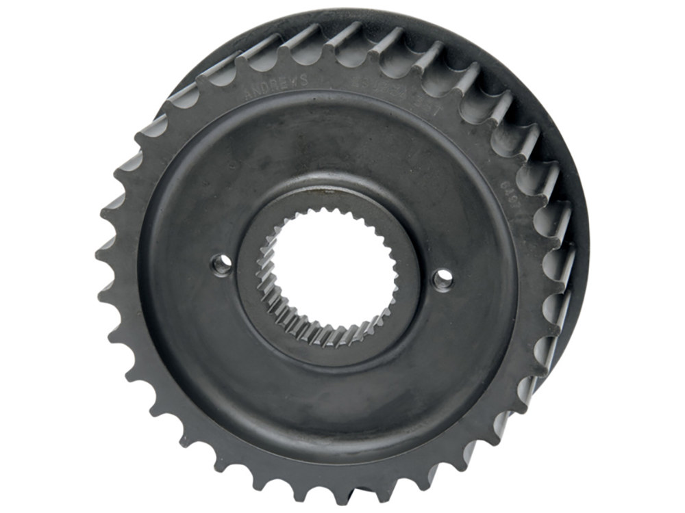 Andrews Products Pulley; Big Twin'85-06 5 Speed, Long Life Steel with 34 Teeth Excludes Dyna'06