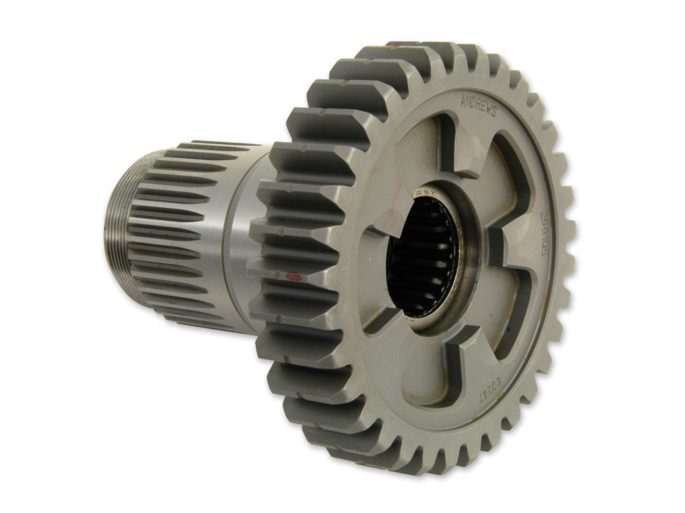 5th Mainshaft Gear; Sportster'91up 5 Speed with Belt Drive