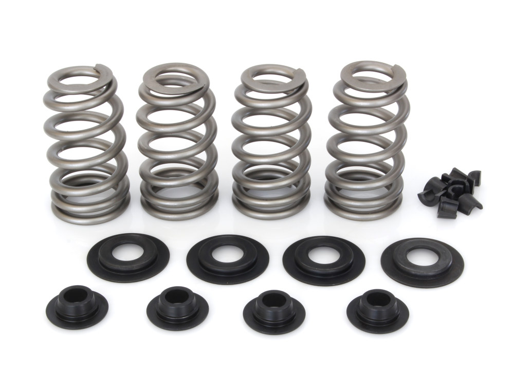 Valve Spring Kit. Fits Twin Cam 2005-2017, Sportster 2004up. Beehive Springs with .650in. Lift.