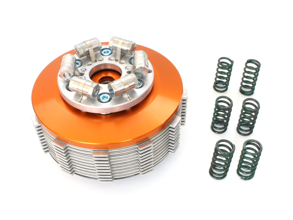 Scorpion Lock-Up Clutch with Low Profile. Fits Big Twin 2011up with Hydraulic Clutch.