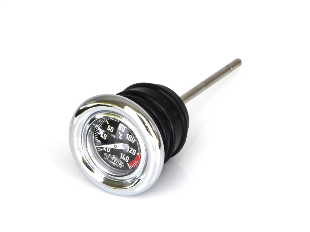 Oil Temperature Dipstick. Fits Softail 1984-1999 & Sportster 1979-2003.