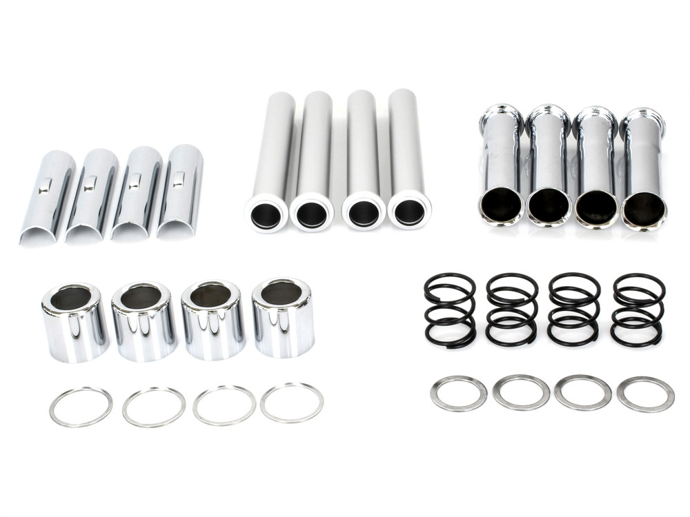 Push Rod Cover Kit; Big Twin 1984-99, Complete Set of 4