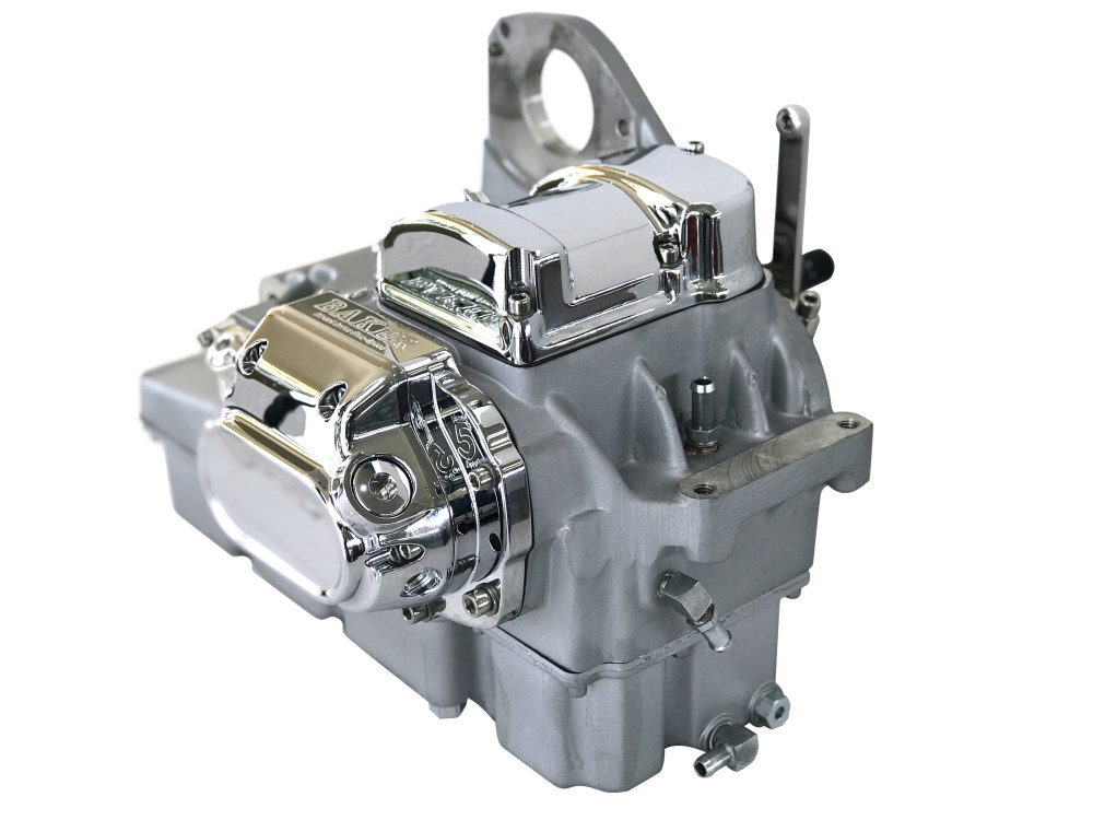 DD5, Direct Drive 5 Speed Transmission Assembly with Natural Finish. Fits Touring 1993-1998.