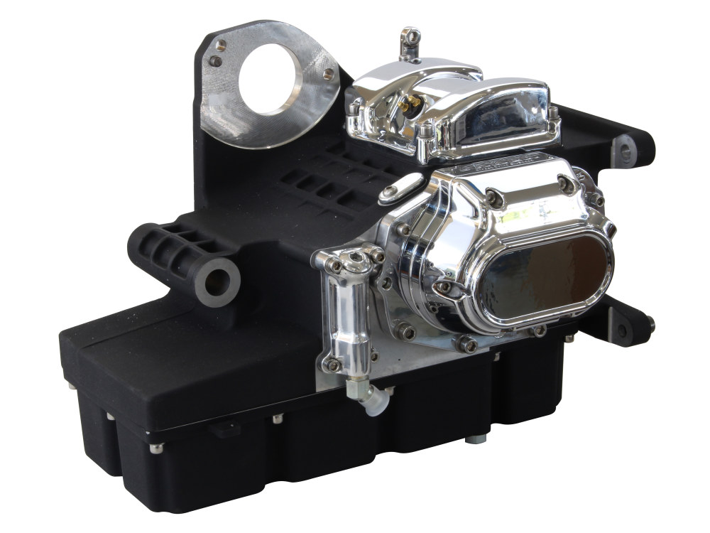 DD6, Direct Drive 6 Speed Transmission Assembly with Black Finish & 2.94 1st Gear Ratio. Fits Touring 2002-2006.