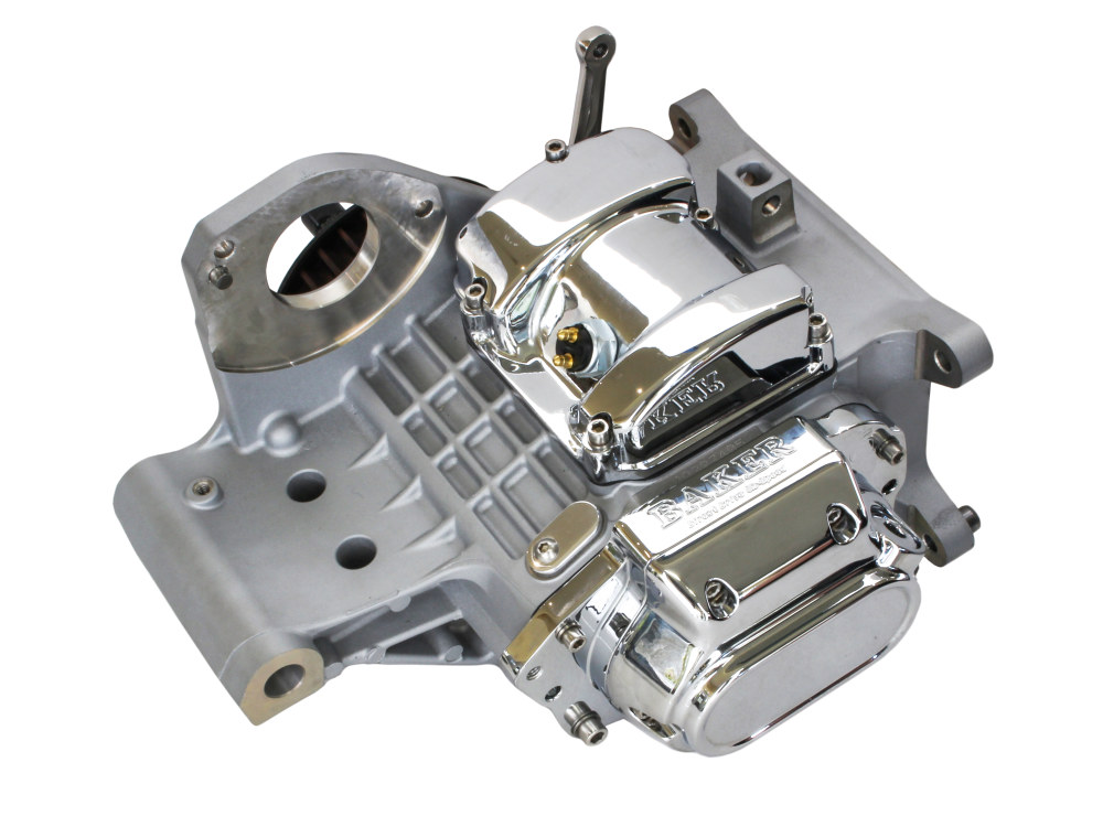 DD6, Direct Drive 6 Speed Transmission Assembly with Raw Finish & 2.94 1st Gear Ratio. Fits Softail 2000-2006.