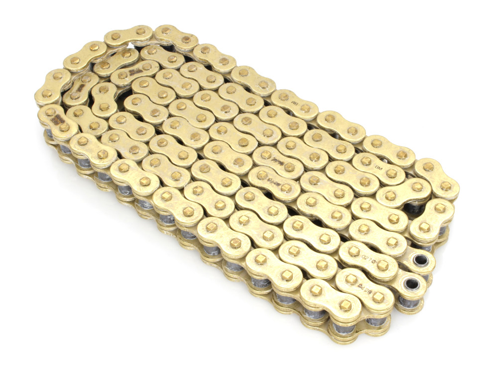 Chain; RR X-Ring Gold 120 Link