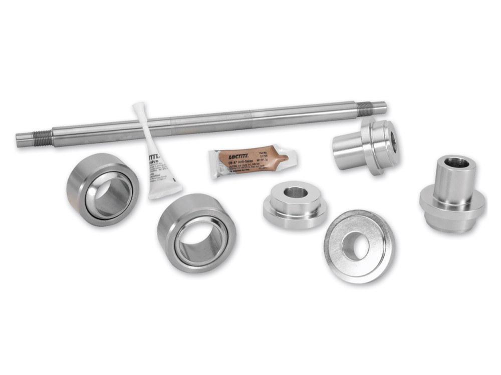 Swing Arm Bearing Upgrade Kit with Pivot Shaft. Fits Touring Models 1980-2001 & FXR Models 1982-1994.