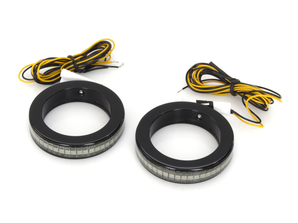 Alloy Art LED Front Signal Lights with Smoked lens//Amber LEDs  RKFS-2*