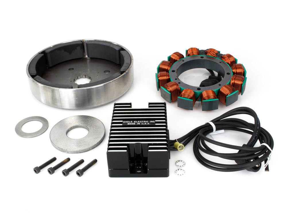 Alternator Kit. Fits Big Twin 1989-1998.