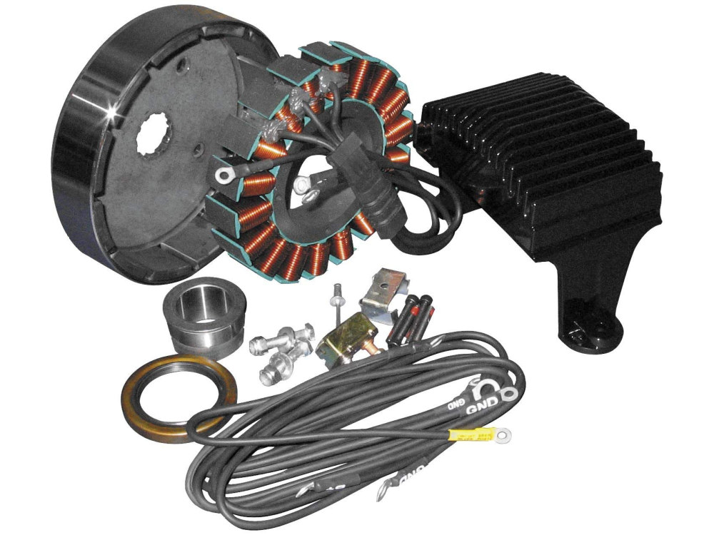 50 Amp 3 Phase Alternator Kit. Fits Touring 1999-2003.