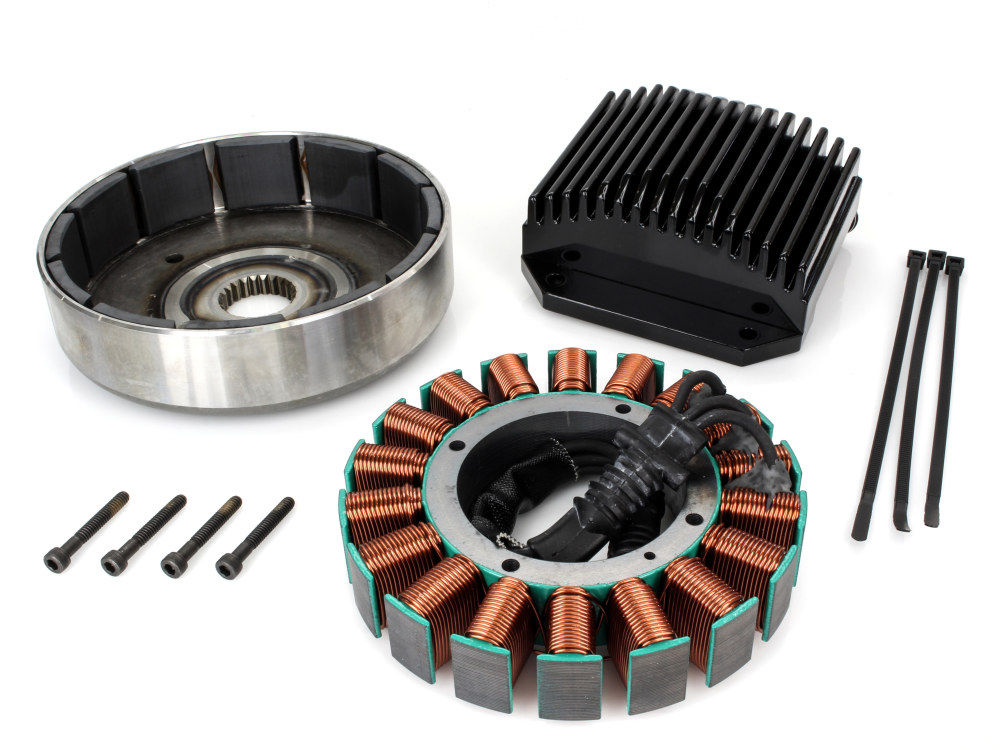 50 Amp 3 Phase Alternator Kit. Fits Dyna 2012up.