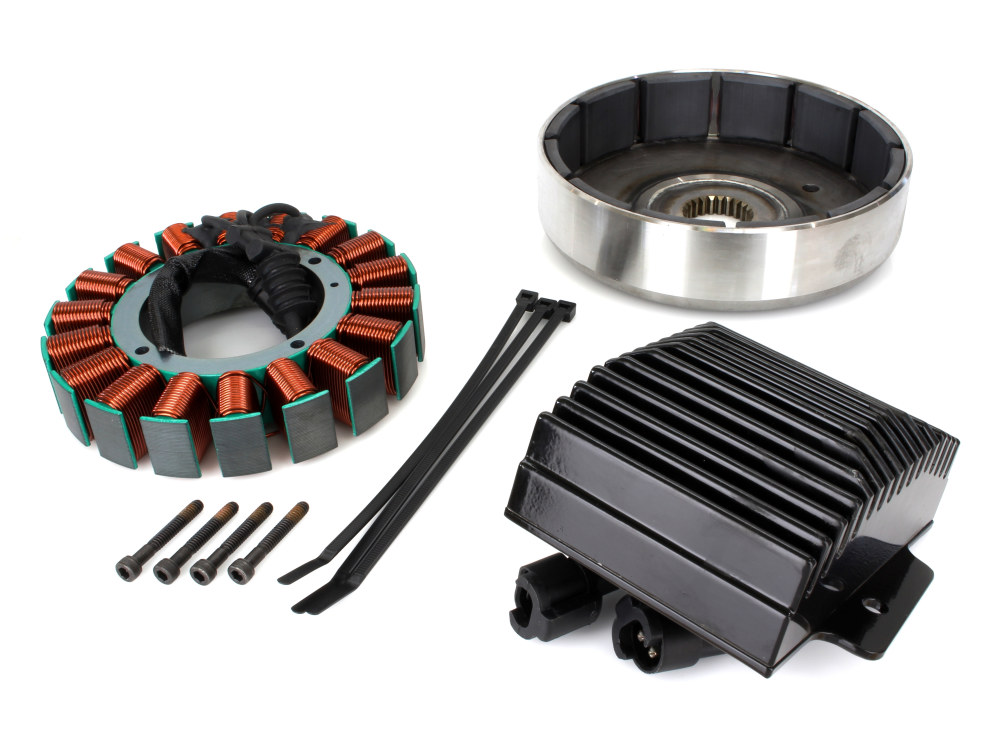 50 Amp 3 Phase Alternator Kit. Fits Softail 2012up.