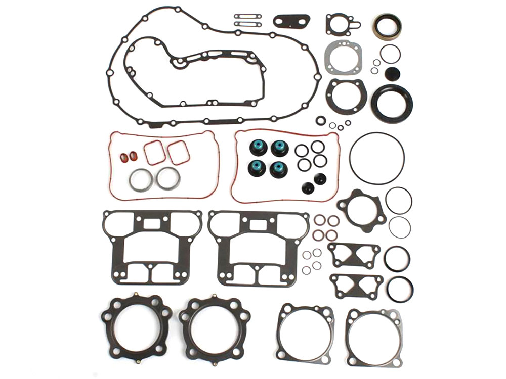Engine Gasket Kit with Multi-Layer Steel (MLS) Head Gaskets. Fits 1200cc Sportster 2007up.