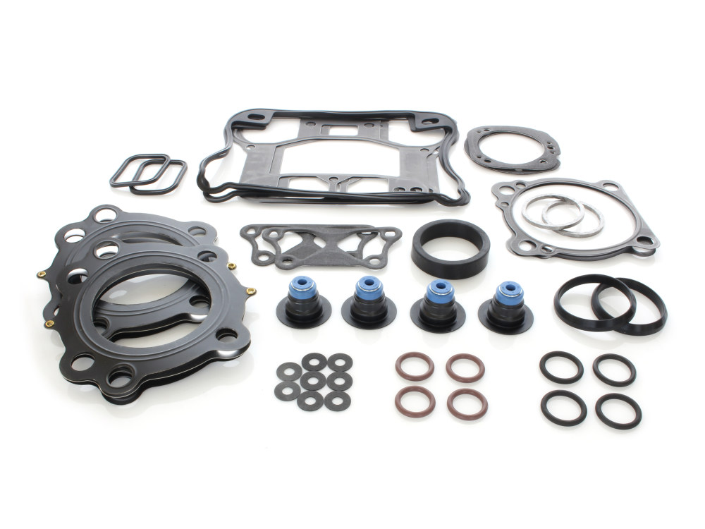 Top End Gasket Kit with Multi-Layer Steel (MLS) Head Gaskets. Fits Sportster 2004-2006 with 883cc Engine.
