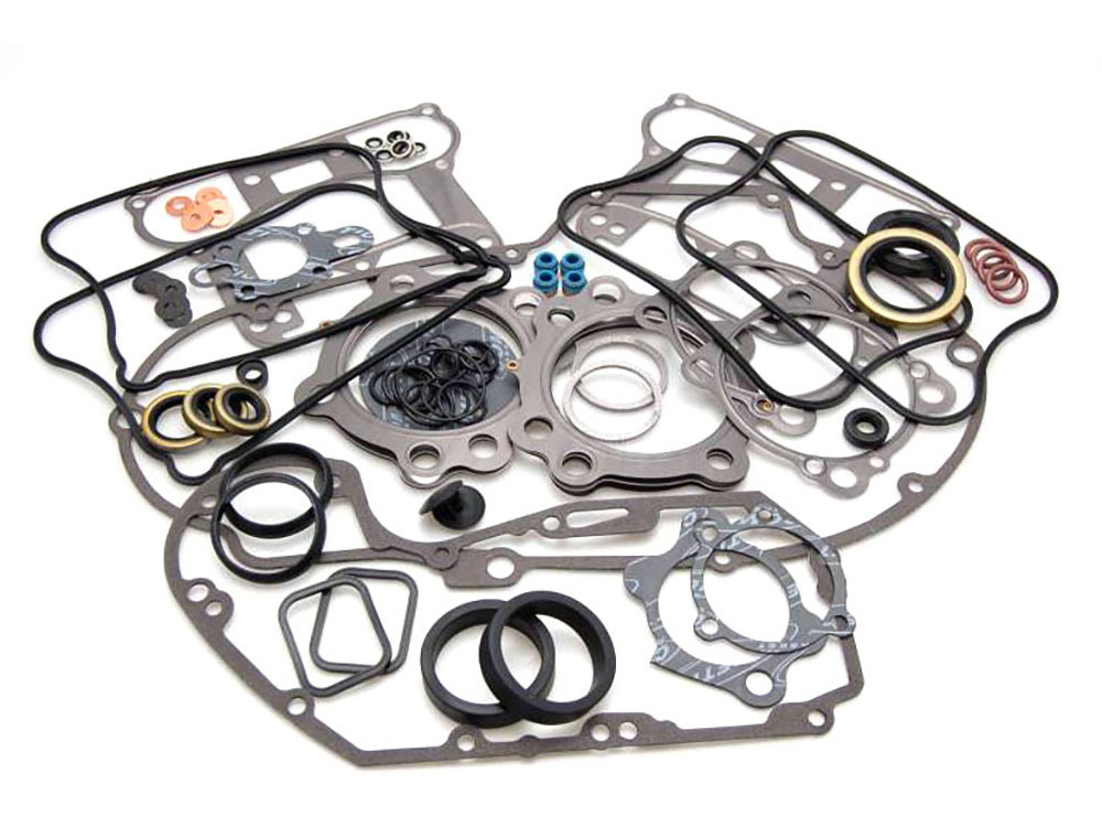 Engine Gasket Kit with Multi-Layer Steel (MLS) Head Gaskets. Fits Sportster 1986-1990 with 1200cc Engine.