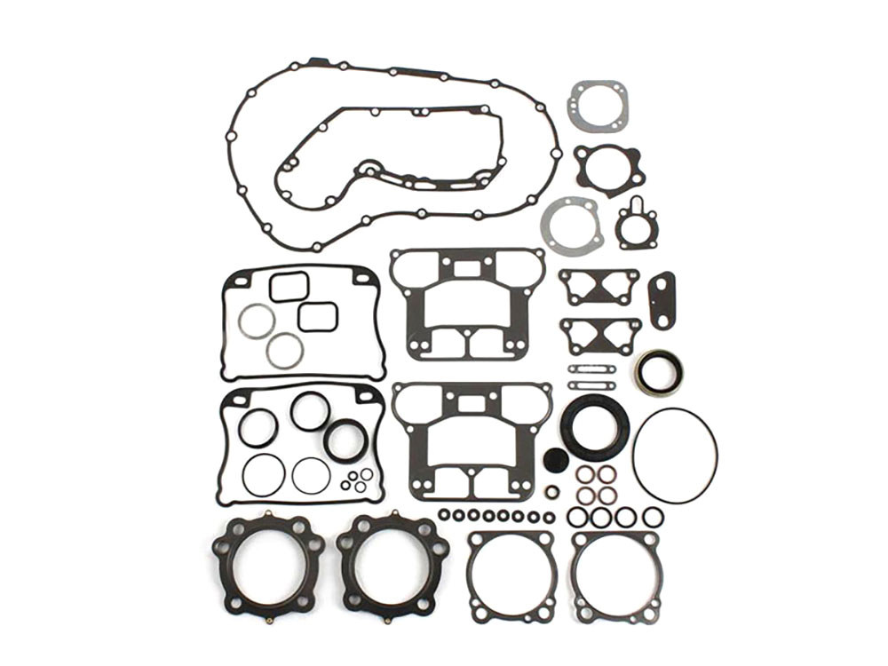 Engine Gasket Kit with Multi-Layer Steel (MLS) Head Gaskets. Fits Sportster 2004-2006 with 1200cc Engine.