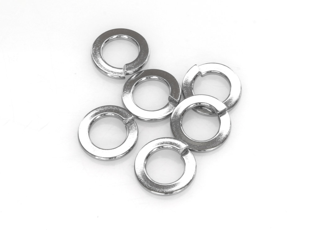 3/8in. Lock Washer – Chrome. Pack 6.