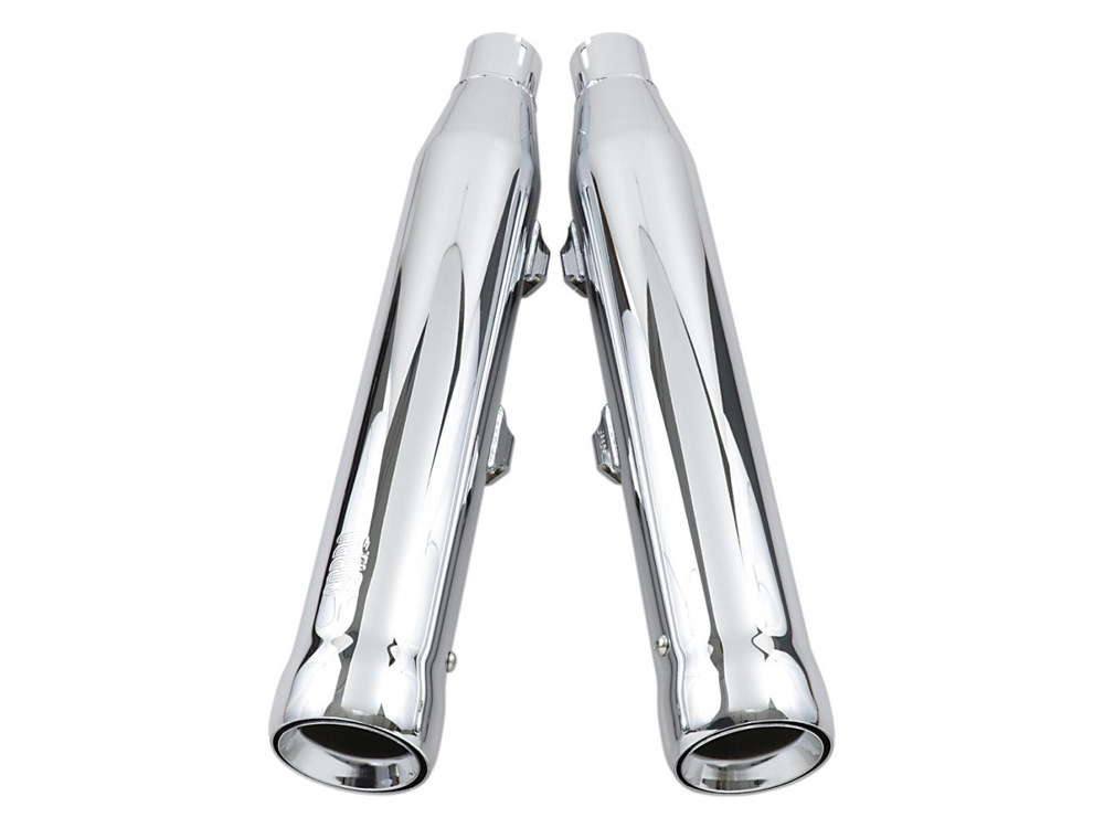3in. Neighbor Hater Slip-On Mufflers - Chrome. Fits Sportster 2014up.