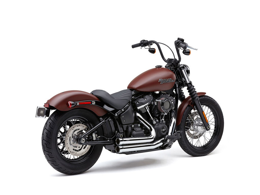 Chrome Cobra Speedster 909 System. Fits 2018 & later Deluxe, Slim, Street Bob & Low Rider Models