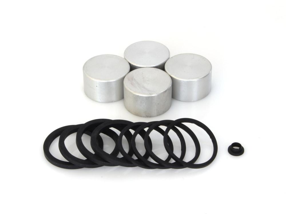 Front Caliper Rebuild Kit with Pistons & Seals. Fits Brembo Caliper.