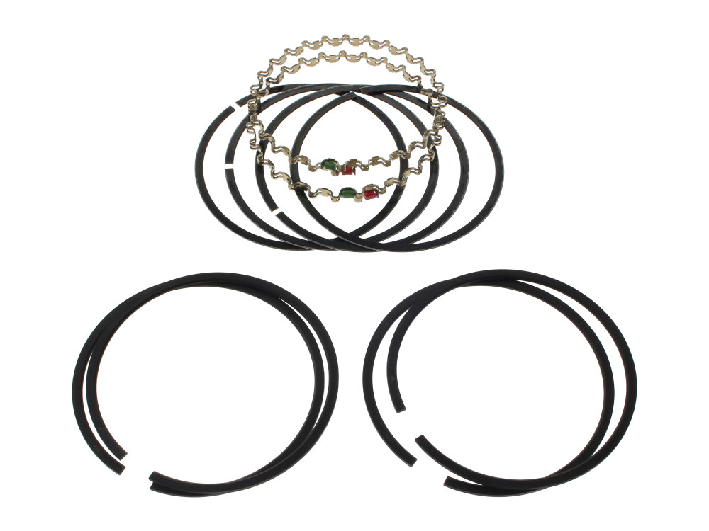 Piston Rings; M8'17up STD 107ci (Pair)