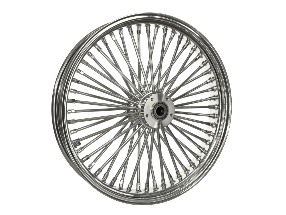 21in. x 3.5in. Front Mammoth 52 Fat Spoke Wheel – Chrome. Fits Softail Breakout 2013up & FX Softail 2000-2015.