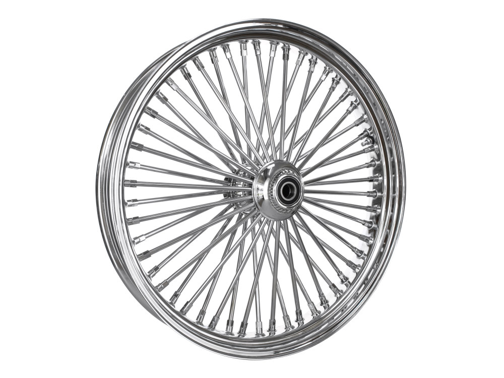 23in. x 3.5in. Front Mammoth 52 Fat Spoke Wheel – Chrome. Fits Softail Breakout 2013up & FX Softail 2007-2015.