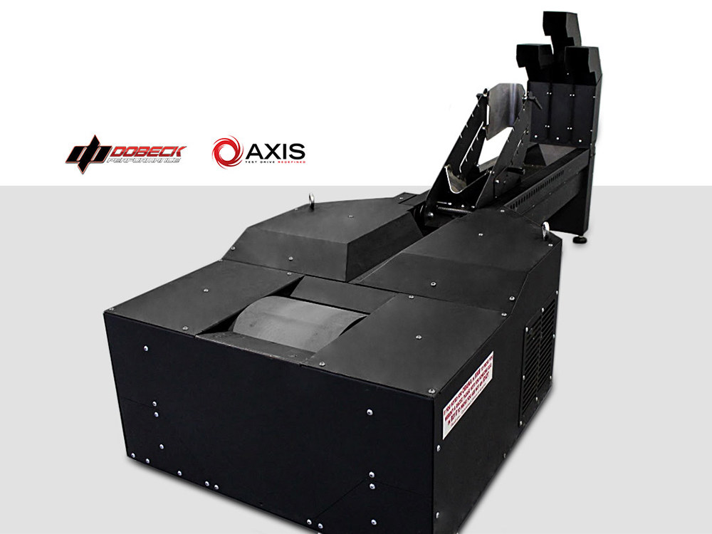 Axis Motorcycle Dyno Package with Carbon Black Finish.