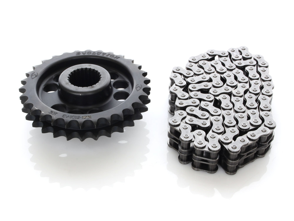 Sprocket; Comp Conv Kit S/Tail'18up 30T w/90 Link Chain