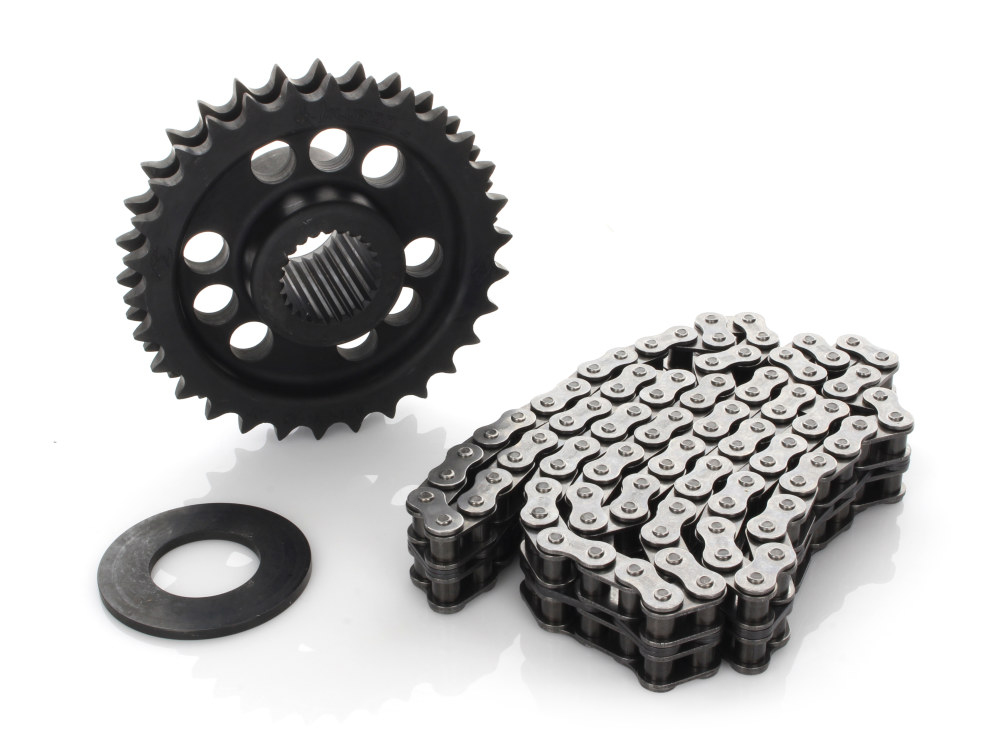 Comp Sprocket Conv Kit; Softail'11-17, Dyna'11-17 30T w/Chain (Exc Breakout)
