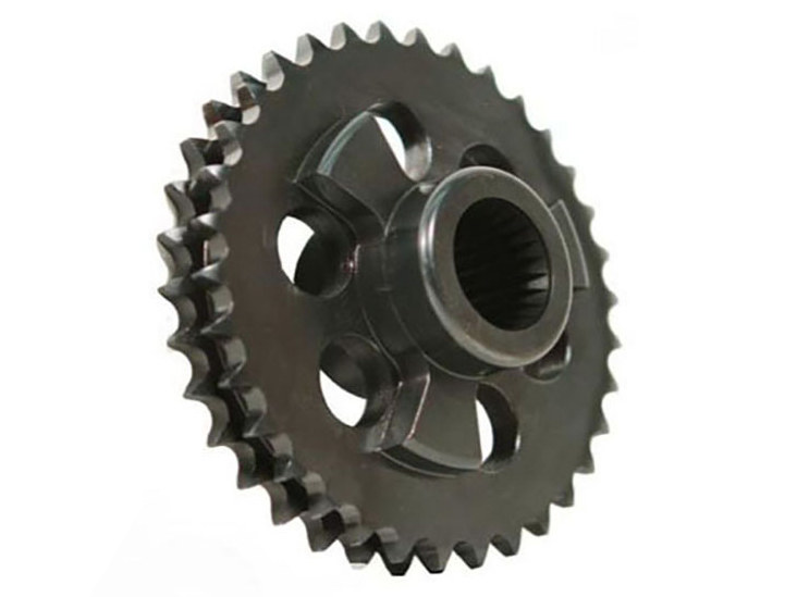 Comp Sprocket Conv; Big Twin'11-17 & S/Eagle 34T (exc Rocker/Breakout and '17 M8 Touring models)