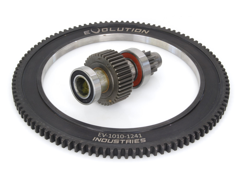 Starter Ring Gear with Starter Clutch. Fits Big Twin 2007-17 exc FLH'17