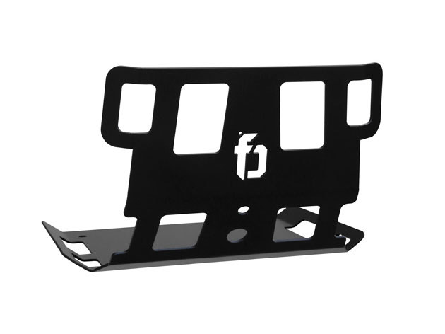Skid Plate; Dyna'06up Blk