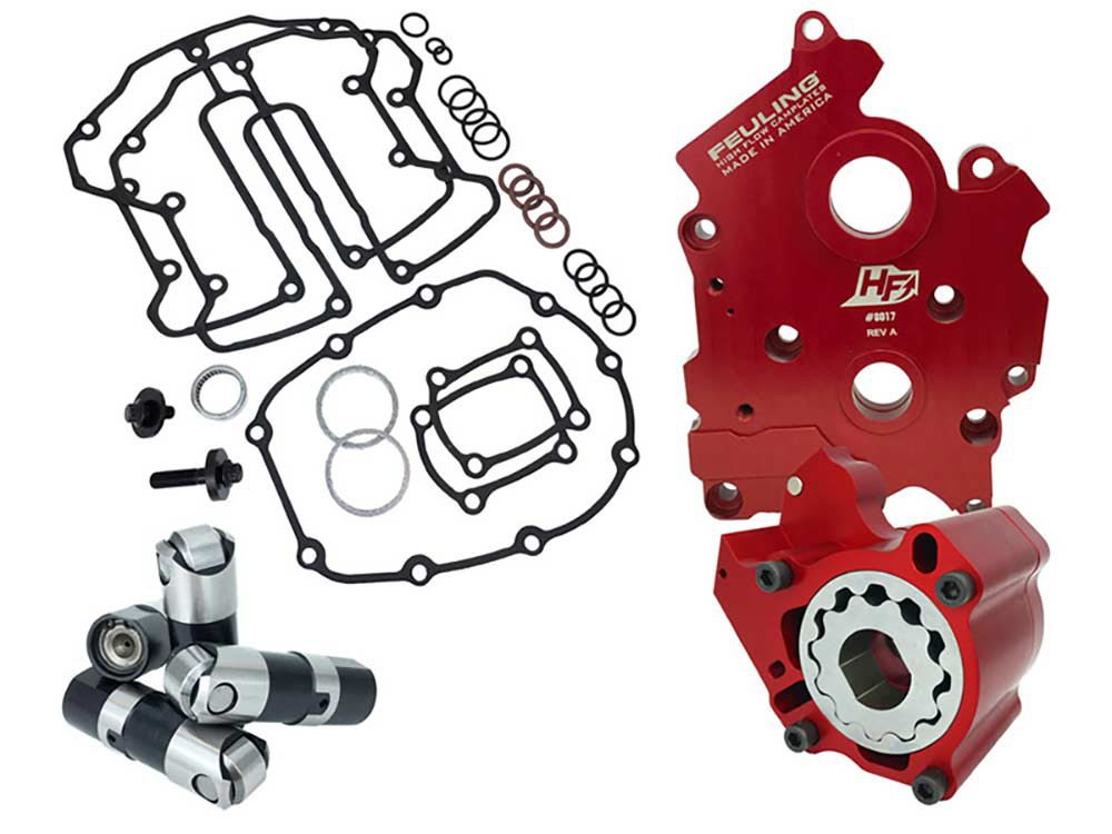Race Series Oil System; M8 2017up - Oil Cooled Models