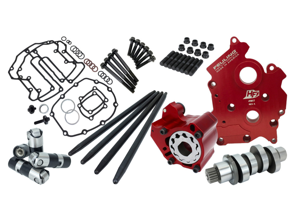 Race Series Cam Chest Kit with 521 Reaper Cam. Fits Touring 2017up & Softail 2018up with Oil Cooled Engines.