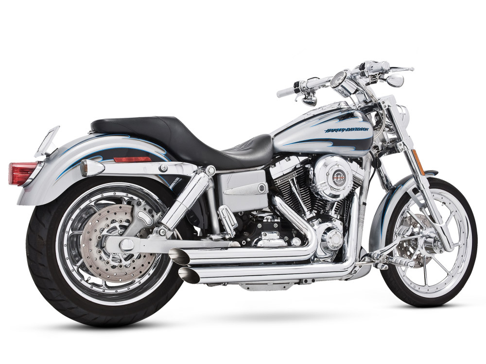 Amendment Exhaust with Chrome Finish. Fits Dyna 2006-2017.