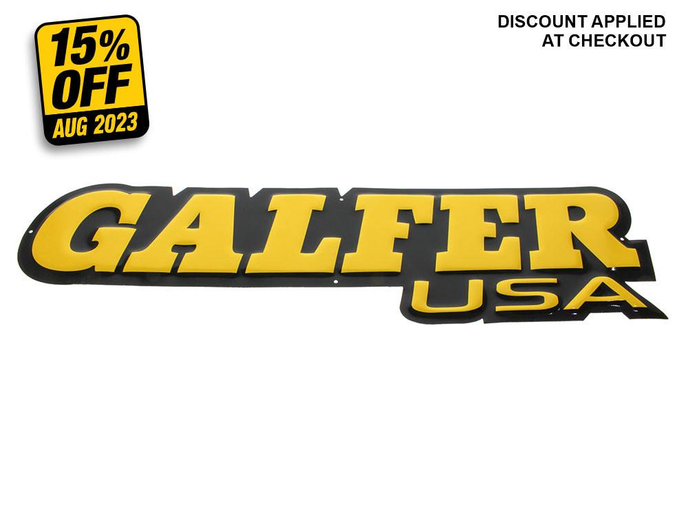 Galfer Pressed Tin Sign