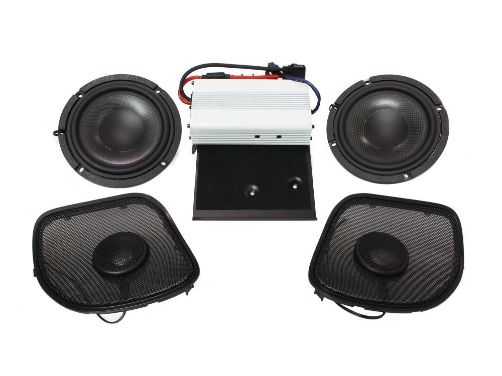 Wild Boar, 400 Watt Amp x 2 Speaker Kit. Fits 2015up Road Glide Models.