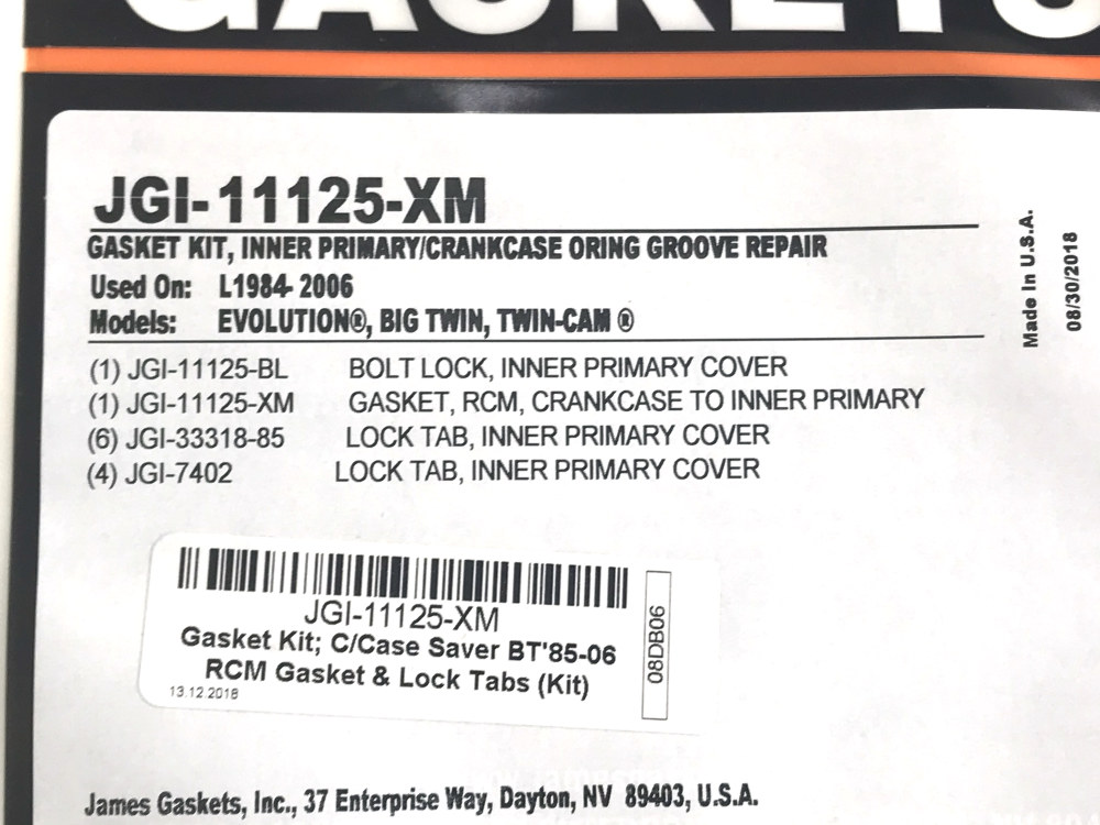 James Gasket Crankcase Saver Kit JGI-11125-XM